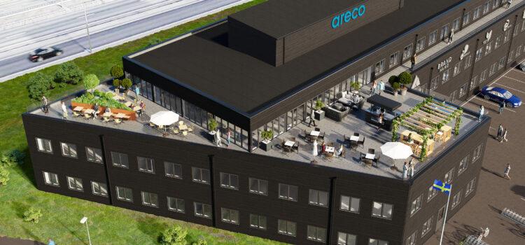 Magnacon blir projekt- och byggledare för Arecos nya kontor